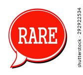 rare white stamp text on red... | Shutterstock . vector #292922534