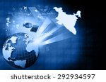 financial growth of indian...   Shutterstock . vector #292934597
