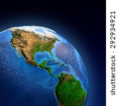 Detailed Picture Earth Landforms View - Fine Art prints