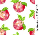 vector seamless background. red ...   Shutterstock .eps vector #292946981