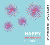 happy independence day united... | Shutterstock . vector #292952255