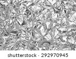 Silver Leaf Foil Background...