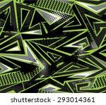 seamless abstract vector... | Shutterstock .eps vector #293014361