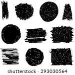 vector design elements. grunge... | Shutterstock .eps vector #293030564