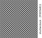 monochrome dot pattern  simple  ... | Shutterstock .eps vector #293056811