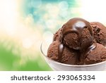 close up of ice cream | Shutterstock . vector #293065334
