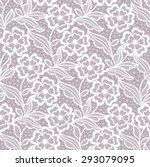 seamless  abstract lace  floral ... | Shutterstock .eps vector #293079095