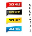 click here web button... | Shutterstock .eps vector #293093969