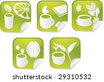set of various beverage icons... | Shutterstock . vector #29310532