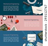 mechanical  electrical  and... | Shutterstock .eps vector #293112767