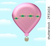 colorful hot air balloons in...   Shutterstock . vector #2931616