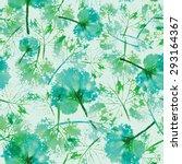 crazy beautiful imprint... | Shutterstock .eps vector #293164367