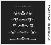 vintage elements.   Shutterstock . vector #293183921