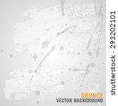 vector grunge background for...   Shutterstock .eps vector #293202101