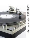 turntable   dj's vinyl player... | Shutterstock . vector #2932099