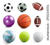 soccer ball  soccer  sport. | Shutterstock . vector #293214551