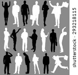 people  group of people ... | Shutterstock . vector #293218115