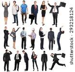 people  group of people ... | Shutterstock . vector #293218124