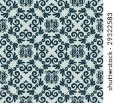 abstract damask seamless vector ... | Shutterstock .eps vector #29322583