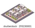 vector isometric infographic... | Shutterstock .eps vector #293230001