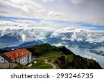 landscape and clouds | Shutterstock . vector #293246735