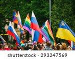 riga  latvia   june 20  2015 ... | Shutterstock . vector #293247569