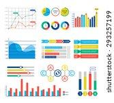 info graphic web design chart... | Shutterstock .eps vector #293257199