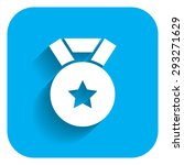 icon of medal with star sign... | Shutterstock .eps vector #293271629