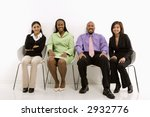 multi ethnic business group of... | Shutterstock . vector #2932776