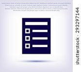 paper icon | Shutterstock .eps vector #293297144