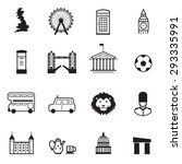 england icons | Shutterstock .eps vector #293335991