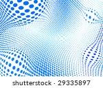 abstract halftone illustration   Shutterstock .eps vector #29335897