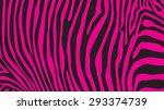 Pink Zebra Stripes Pattern ...