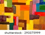abstract texture background of... | Shutterstock . vector #293375999
