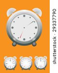 alarm clock. vector. without... | Shutterstock .eps vector #29337790