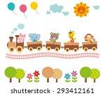 cute illustrations for children ... | Shutterstock . vector #293412161