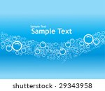 vector bubbles background with...   Shutterstock .eps vector #29343958