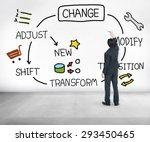 Small photo of Change Improvement Development Adjust Transform Concept