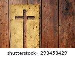 concept or conceptual christian ... | Shutterstock . vector #293453429