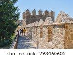 People Walks Into Avila Walls ...