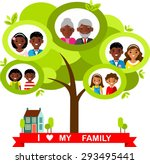 vector concept of african... | Shutterstock .eps vector #293495441