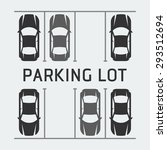 vector illustration of parking... | Shutterstock .eps vector #293512694