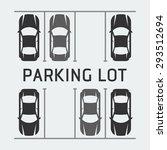 vector illustration of parking... | Shutterstock .eps vector #293512694