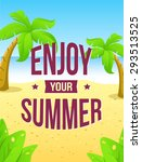 summer color background with... | Shutterstock .eps vector #293513525