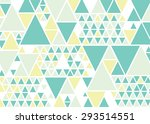 triangle pattern . abstract... | Shutterstock .eps vector #293514551