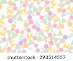 Stock vector geometric pattern abstract background vector texture 293514557