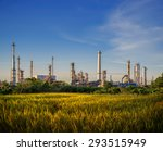 oil and gas industry   refinery ...   Shutterstock . vector #293515949