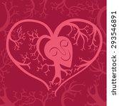 happy healthy heart vector icon | Shutterstock .eps vector #293546891