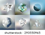 Set Of Polygon Patterns With...
