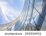 modern glass office building. | Shutterstock . vector #293554931